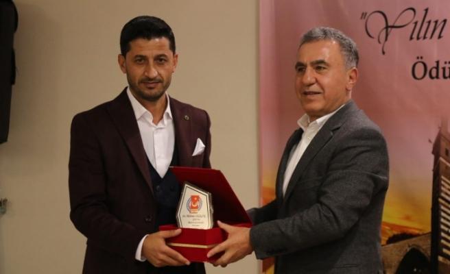 DHA Siverek Muhabiri Mehmet Sezgin'e Birincilik Ödülü