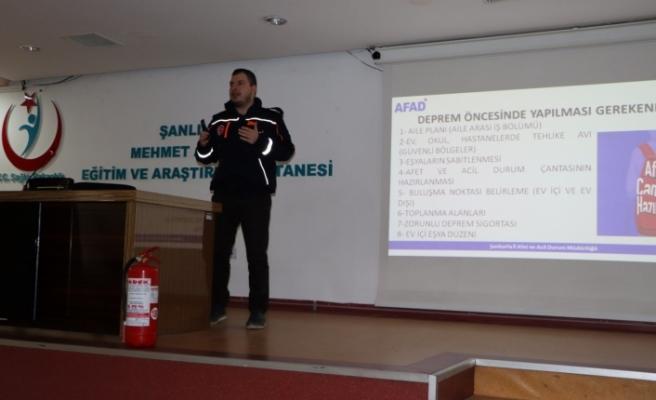 Şanlıurfa AFAD'dan Tehlike Avı Etkinliği