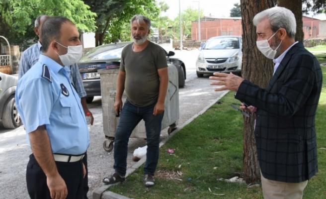 Siverek Belediye Başkanı Aydın, esnafla görüştü, En son Seçimde Görülmüştü!
