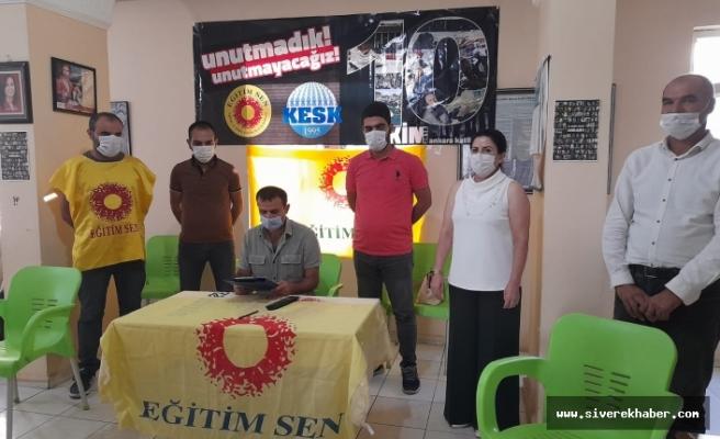 Eğitim-Den Ankara Garı Açıklaması