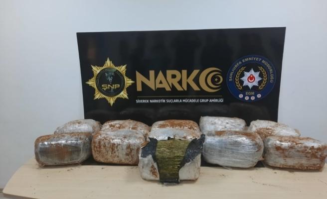 Siverek'te 72 Kilo uyuşturucu yakalandı