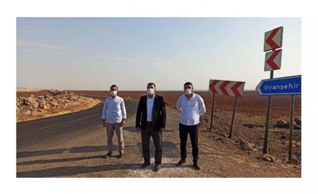 HÜDA-PAR Siverek-Viranşehir yolu ölüm yoluna dönüşmesin