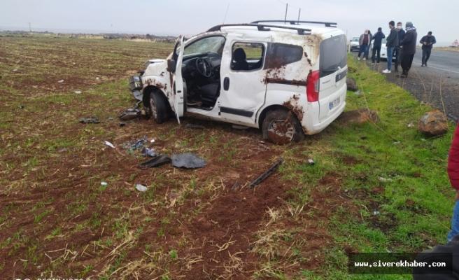 Siverek'te iki ayrı kazada: 6 kişi yaralandı