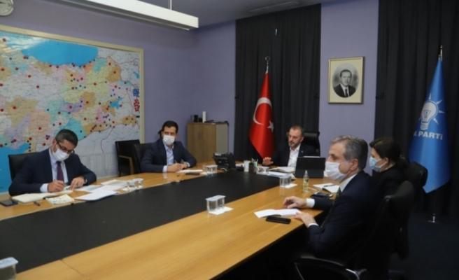 Urfa'nın ilçeleri AK Parti Genel Merkezinin masasında!