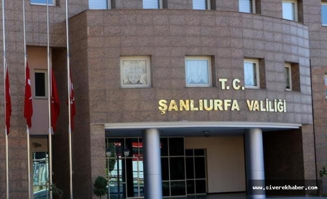 İçişleri Bakanlığı'ndan Şanlıurfa'ya yeni genelge!