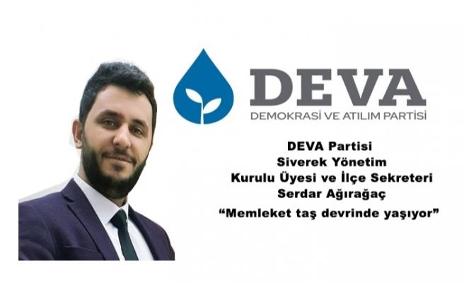 DEVA Partisi Siverek'teki sorunlara dikkat çekti