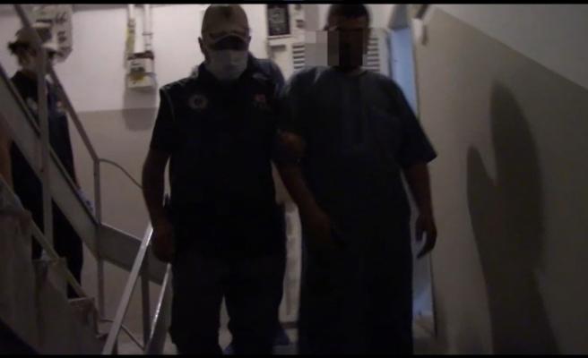 Şanlıurfa da düzenlenen operasyonda 7 şüpheli gözaltına alındı