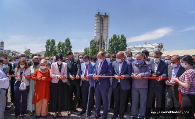 Siverek'te 400 kişiye istihdam sağlayacak fabrikanın temel atma töreni gerçekleştirildi