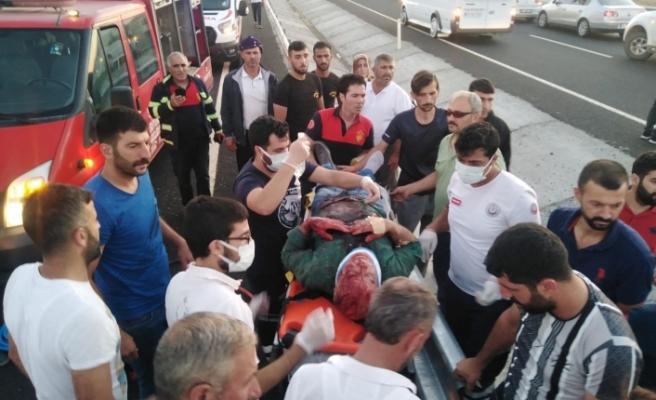 Siverek-Diyarbakır karayolunda kaza meydana geldi!
