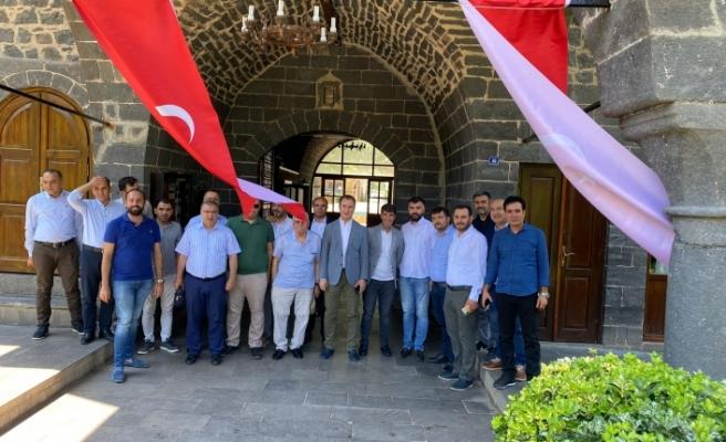 Şanlıurfa Mali Müşavirler Başkanı Mustafa Karadağ'dan Siverek ziyareti