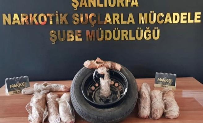 Şanlıurfa'da uyuşturucu operasyonu; 3 tutuklanma!