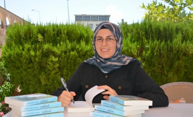 Siverekli kadın yazarın ilk kitabı raflarda yerini aldı