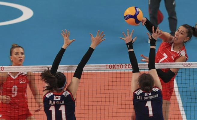 Tokyo 2020   A Milli Kadın Voleybol Takımı yarı final kapısından döndü
