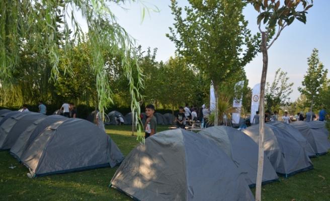 TÜGVA'dan Siverekli çocuklara etkinlik fırsatı