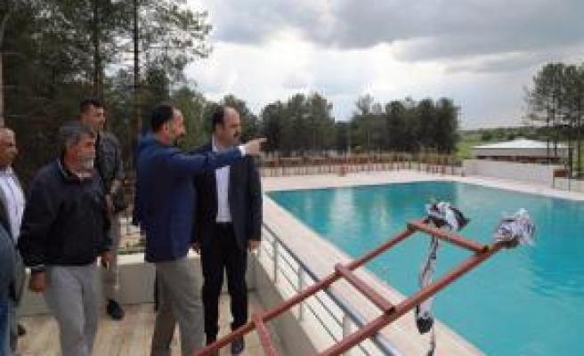 Büyükşehir'den Siverek'e Kültür Merkezi ve havuz