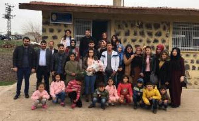 Harran Üniversitesi Öğrencilerinden Anlamlı Ziyaret