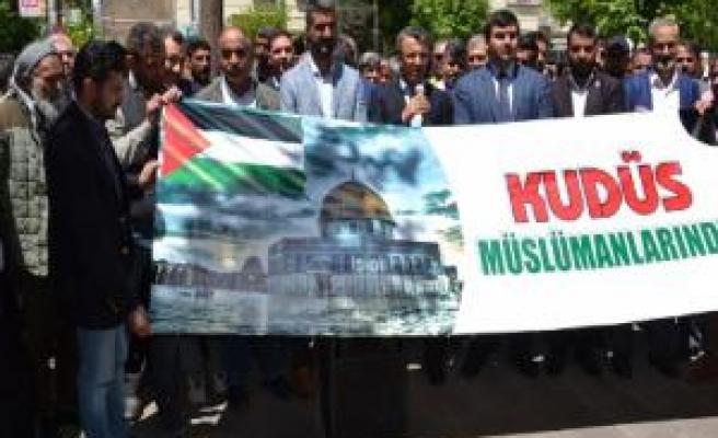 Siverek'te ABD'nin Kudüs kararına tepki