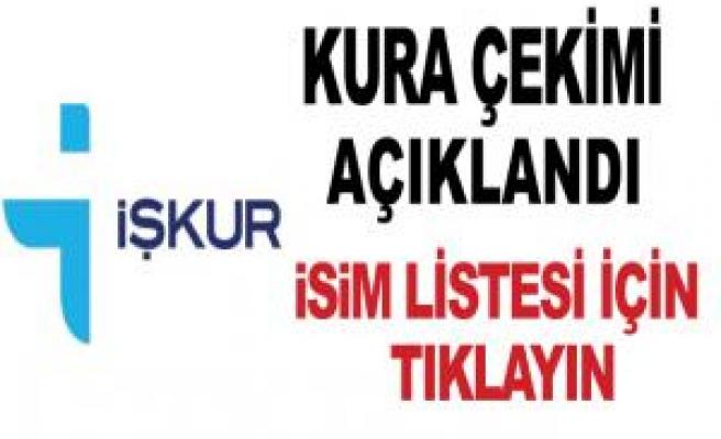 Siverek'te İŞKUR'dan işe alınanların listesi