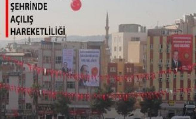 Cumhurbaşkanı Erdoğan'ın gelişine saatler kala...