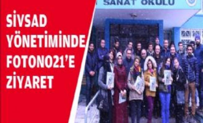 SİVSAD Yönetiminden Fotono21'e Ziyaret
