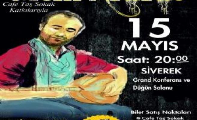 Siverek'te Mem Ararat Konseri Yapılacak