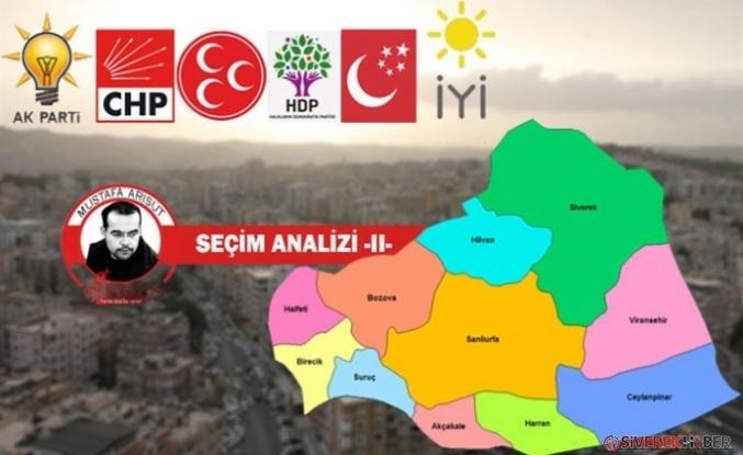 Mustafa Arısüt'ten Yerel Seçim Analizi: Şanlıurfa...