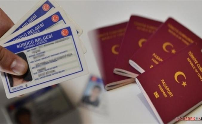 Pasaport, ehliyet harçları, trafik cezaları yüzde 23.73 artacak