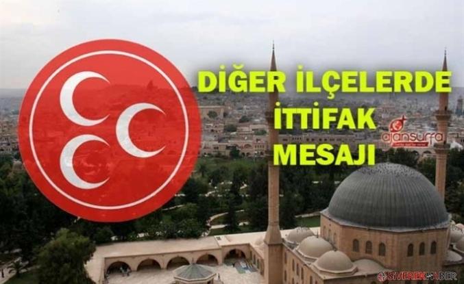 MHP'nin Urfa'da 3 adayı kesinleşti! Büyükşehir, Harran, Siverek...