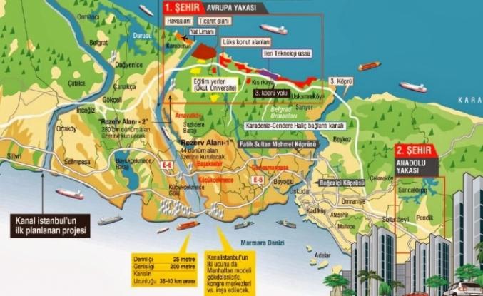 Kanal İstanbul her yönüyle bir felaket, ihanet ve cinayet projesidir