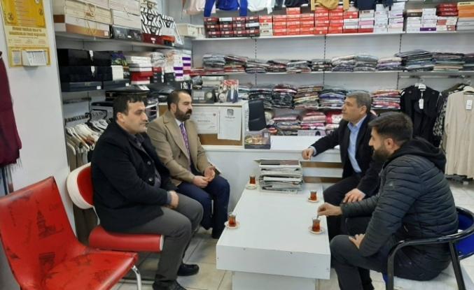 Genç Kanaat önderi Belediye Başkan yardımcısı Hasan İzol'dan anlamlı STK ziyaretleri