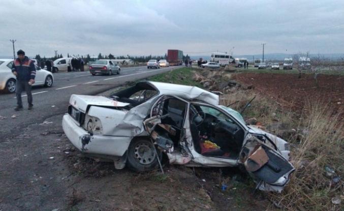Korkunç Trafik Kazası Ölü ve Yaralılar var