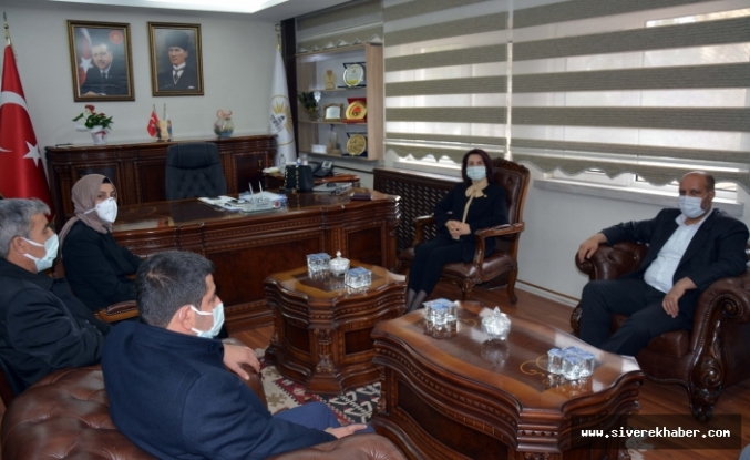 AK Partili Vekil, Ayşe Çakmak'ı ziyaret etti