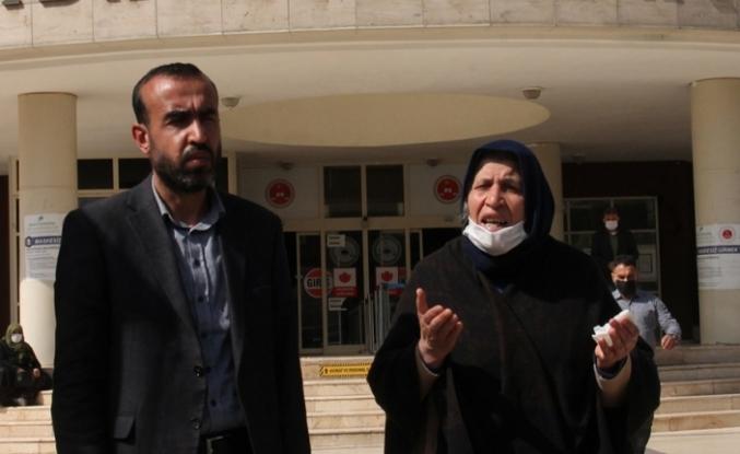 'Adalet' nöbeti tutan Şenyaşar gözaltına alındı