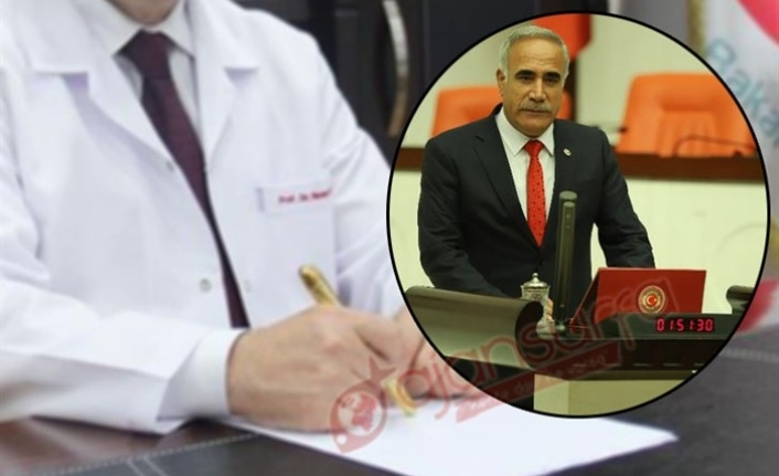 CHP Urfa vekili Bakan'a sordu: Başhekimler nerede?