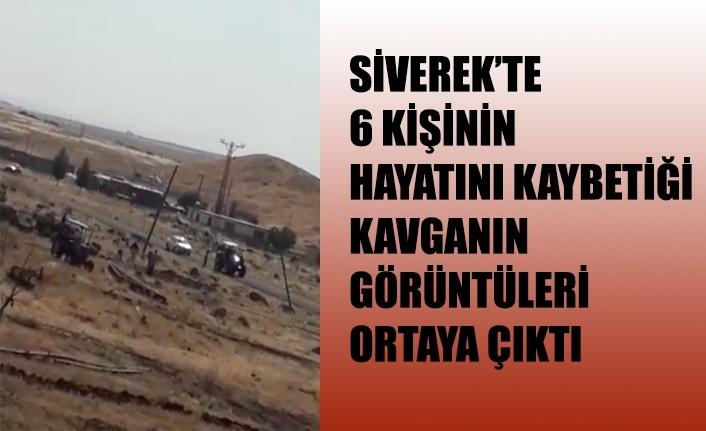 Siverek'teki kavganın görüntüleri ortaya çıktı!