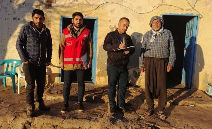 Siverek'te Depremden olumsuz etkilenenlere psikolojik destek