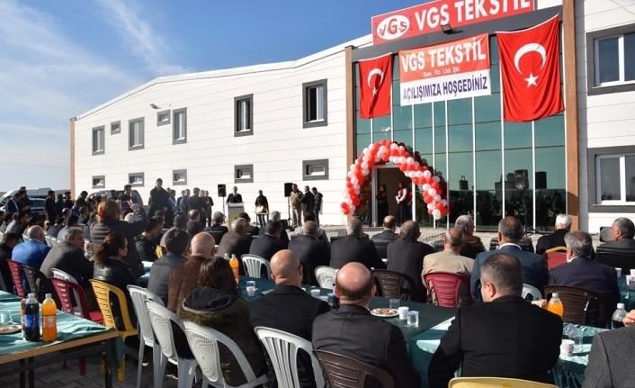 Viranşehşir'de İlk Tekstil Fabrikasının Açılışı Yapıldı