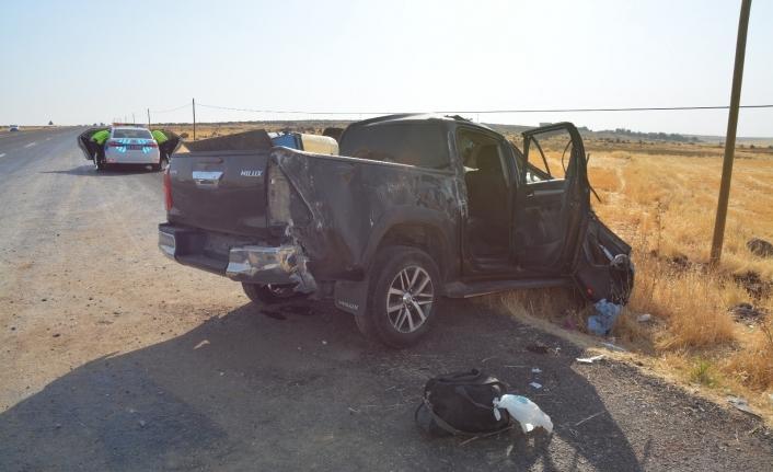 Siverek'te kazalar peş peşe geldi; 2 ölü 3 yaralı