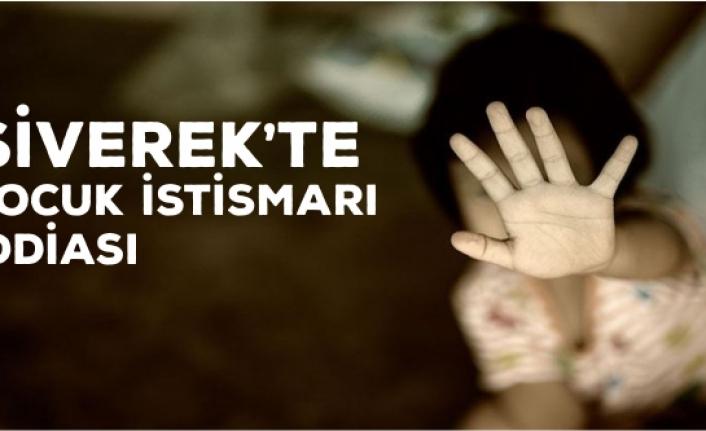 Siverek'te Çocuk İstismarı İddiası